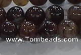 CAA1038 15.5 inches 10mm round dragon veins agate beads wholesale