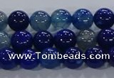 CAA1061 15.5 inches 6mm round dragon veins agate beads wholesale