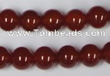 CAA112 15.5 inches 10mm round red agate gemstone beads wholesale