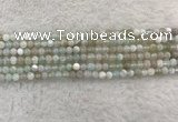 CAA1840 15.5 inches 4mm round banded agate gemstone beads