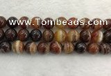 CAA1866 15.5 inches 16mm round banded agate gemstone beads
