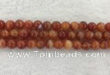 CAA1904 15.5 inches 12mm round banded agate gemstone beads