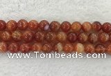 CAA1906 15.5 inches 16mm round banded agate gemstone beads