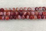 CAA1924 15.5 inches 12mm round banded agate gemstone beads