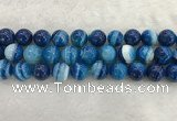 CAA1936 15.5 inches 16mm round banded agate gemstone beads