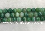 CAA2006 15.5 inches 16mm round banded agate gemstone beads