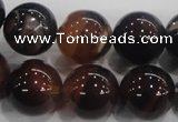 CAA219 15.5 inches 16mm round dreamy agate gemstone beads