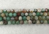 CAA2303 15.5 inches 10mm round banded agate gemstone beads