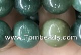 CAA2361 15.5 inches 14mm round moss agate beads wholesale