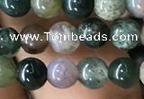 CAA2363 15.5 inches 4mm round Indian agate beads wholesale