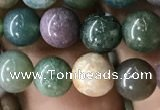 CAA2364 15.5 inches 6mm round Indian agate beads wholesale