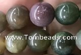 CAA2365 15.5 inches 8mm round Indian agate beads wholesale