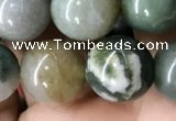 CAA2366 15.5 inches 10mm round Indian agate beads wholesale