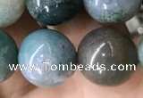 CAA2368 15.5 inches 14mm round Indian agate beads wholesale