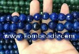 CAA3408 15 inches 12mm faceted round agate beads wholesale