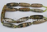 CAA3617 15.5 inches 18*50mm - 15*55mm rice ocean agate beads