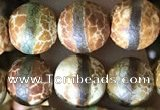 CAA3875 15 inches 8mm round tibetan agate beads wholesale