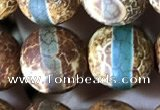 CAA3892 15 inches 10mm round tibetan agate beads wholesale