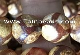 CAA3913 15 inches 10mm round tibetan agate beads wholesale