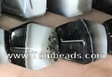 CAA3952 15.5 inches 12*12mm Madagascar agate beads wholesale