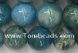 CAA3979 15.5 inches 10mm round chrysanthemum agate beads