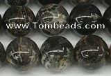 CAA4036 15.5 inches 10mm round chrysanthemum agate beads