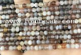 CAA4915 15.5 inches 4mm round Botswana agate beads wholesale