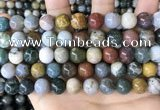 CAA4923 15.5 inches 10mm round ocean agate beads wholesale