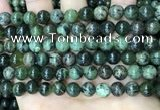 CAA4966 15.5 inches 8mm round green dendritic agate beads