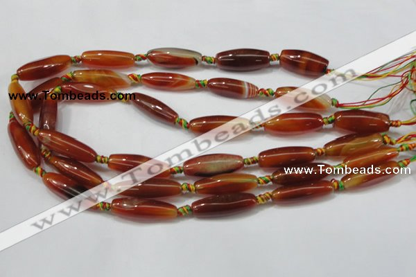 CAA655 15.5 inches 9-13mm*25-30mm rice agate gemstone beads