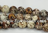 CAA752 15.5 inches 12mm round wooden agate beads wholesale