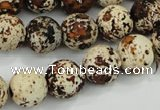 CAA754 15.5 inches 16mm round wooden agate beads wholesale