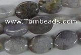 CAA774 15.5 inches 12*16mm oval New Brazilian agate beads