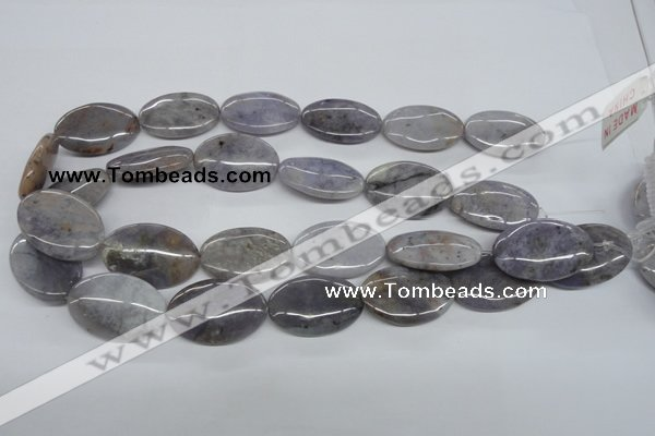 CAA775 15.5 inches 20*30mm oval New Brazilian agate beads