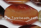 CAA913 15.5 inches 35*46mm freefrom agate gemstone beads