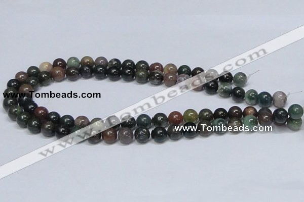 CAB433 15.5 inches 10mm round indian agate gemstone beads wholesale