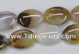 CAB599 15.5 inches 13*18mm oval mexican agate gemstone beads
