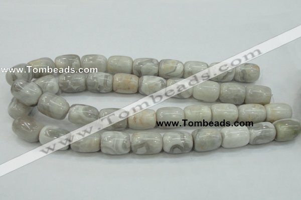CAB904 15.5 inches 15*20mm drum natural crazy agate beads wholesale