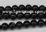 CAE03 15.5 inches 8mm round astrophyllite beads wholesale