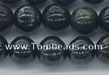CAE122 15.5 inches 8mm round AB-color astrophyllite beads wholesale
