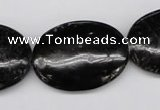 CAE61 15.5 inches 22*30mm oval astrophyllite beads wholesale