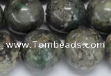 CAF108 15.5 inches 18mm round Africa stone beads wholesale