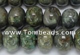 CAF117 15.5 inches 10*14mm rondelle Africa stone beads wholesale