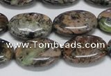 CAF126 15.5 inches 12*16mm oval Africa stone beads wholesale
