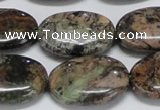 CAF128 15.5 inches 15*20mm oval Africa stone beads wholesale