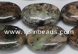 CAF129 15.5 inches 18*25mm oval Africa stone beads wholesale