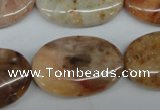 CAG1095 15.5 inches 20*30mm oval Morocco agate beads wholesale