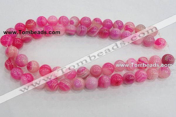 CAG139 14mm smooth round madagascar agate stone beads Wholesale