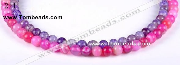 CAG142 9mm  smooth  round madagascar agate stone beads Wholesale
