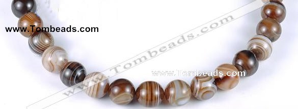 CAG143 14mm round madagascar agate gemstone beads Wholesale